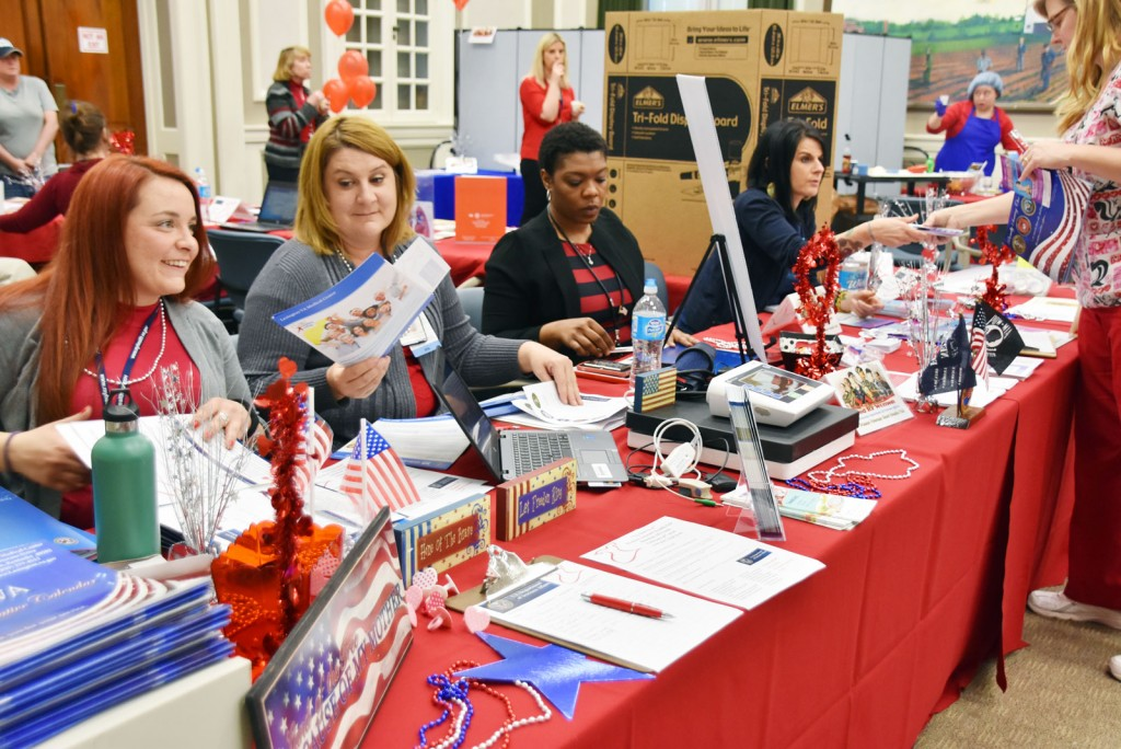 "VA ""goes red"" for women Veterans"