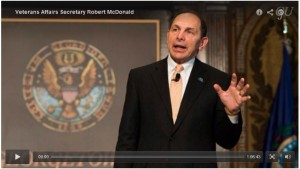 Secretary McDonald on leadership:  Leaders must be purposeful and deliberate