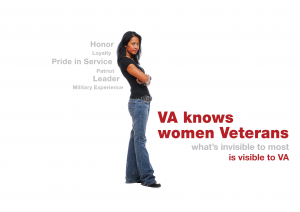 VA knows women veterans what's invisible to most is visible to VA