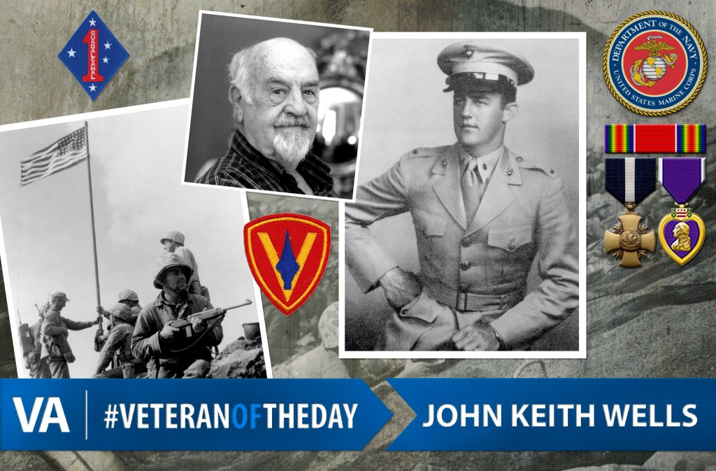 Veteran of the Day John Keith Wells