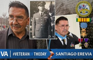 Veteran of the Day Santiago Erevia