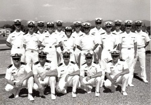 Sam Gordy with his class from Intelligence School-- he is pictured in second row, 2nd from the right.