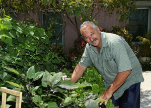 Jon Hyjek, U.S. Army Veteran 1977-1983. Jon is an active member of the VA's MOVE! Weight Management program. He enjoys gardening fruits and vegetables.
