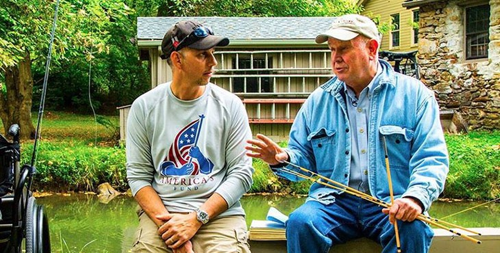 """We don't just take people fishing. We build relationships, and within that comes the healing. It transcends fly-fishing."" - Ed Nicholson, Founder and President"