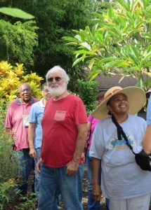 The West Palm Beach Health Promotion Disease Prevention Program partners with our local Mounts Botanical Garden of Palm Beach County and offers free monthly garden tours with a Master Gardener to provide Veterans and their families with learning opportunities on how to grow Florida native plants, fruits and vegetables