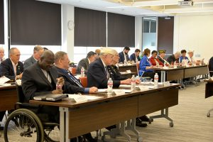 Image of VA medical center directors from New Orleans, Shreveport and Alexandria, Louisiana attended the event, along with nearly 50 Louisiana Veteran service organizations, the Louisiana Department of Veterans Affairs, and congressional staff to discuss the current level of health care and ways forward