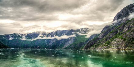 Tracy Arm Fjord - Juneau, Alaska near one of the many Unique Veterans Health Administration locations