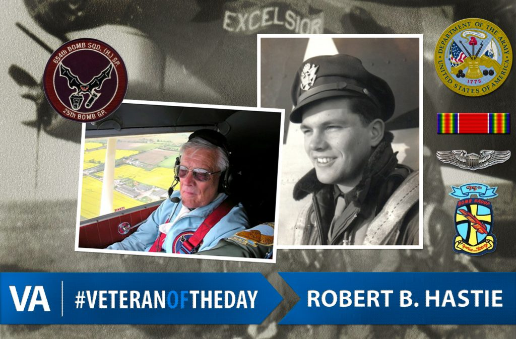 Veteran of the day Robert Hastie