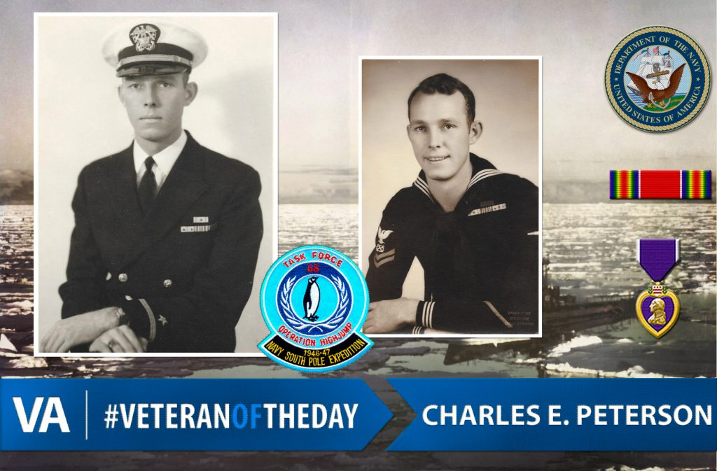 #VeteranOfTheDay: Navy Veteran Charles E. Peterson