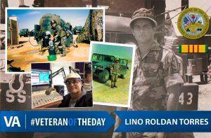 Veteran of the day Lino Roldan Torres