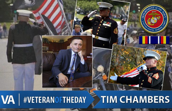 #VeteranOfTheDay Tim Chambers