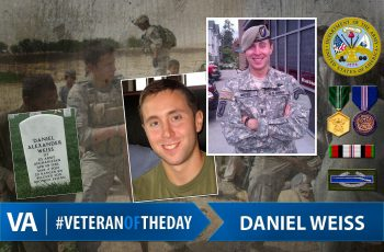 Veteran of the day Daniel Weiss