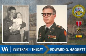 Veteran of the day Edward G. Haggett