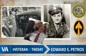 Veteran of the day Edward S. Petros