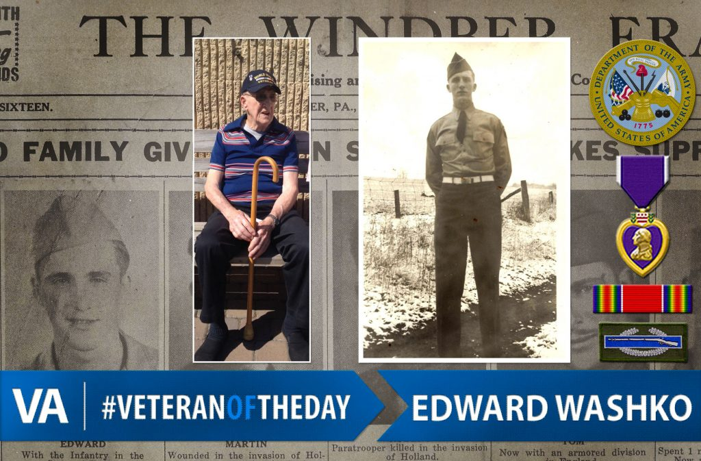 Veteran of the day Edward Washko