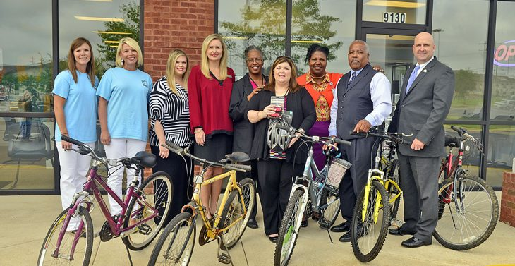 Alabama Veterans are going places thanks to donated bikes