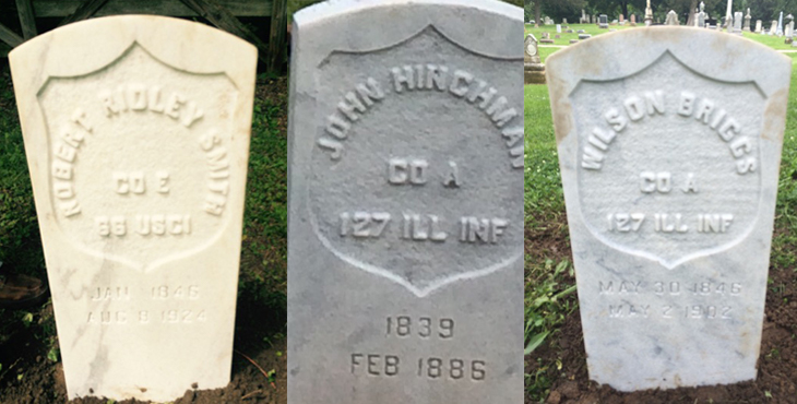 22 New Military Markers Recognize Civil War Soldiers In