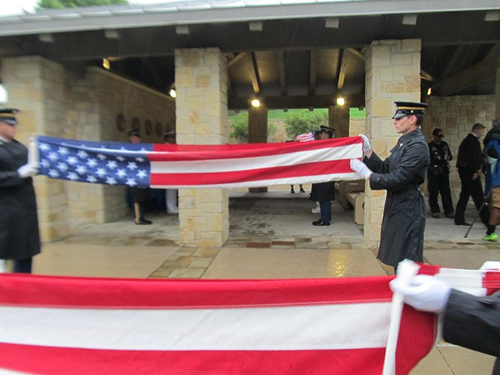 Eight Veterans, whose remains went unclaimed, laid to rest with full military honors