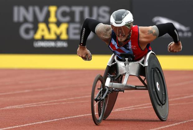 Hundreds of injured military Veterans from around the globe to compete in the 2016 Invictus Games