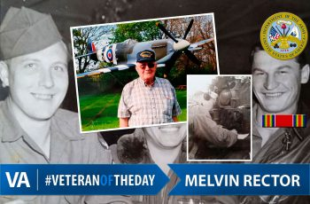 Veteran of the day Melvin-Rector