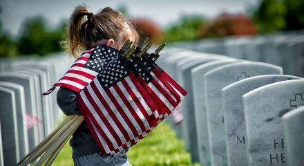 Honoring fallen Veterans on Memorial Day