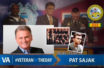 Veteran of the day Pat Sajak