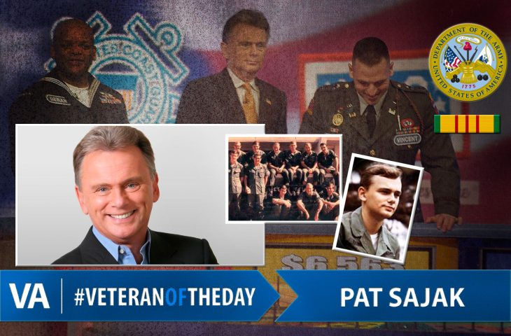 #VeteranOfTheDay Army Veteran Pat Sajak