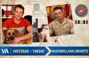 Veteran of the day Maximillian Uriarte