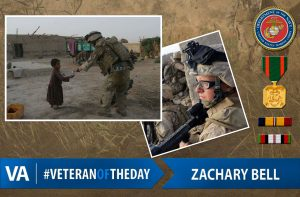 Veteran of the day Zachary-Bell