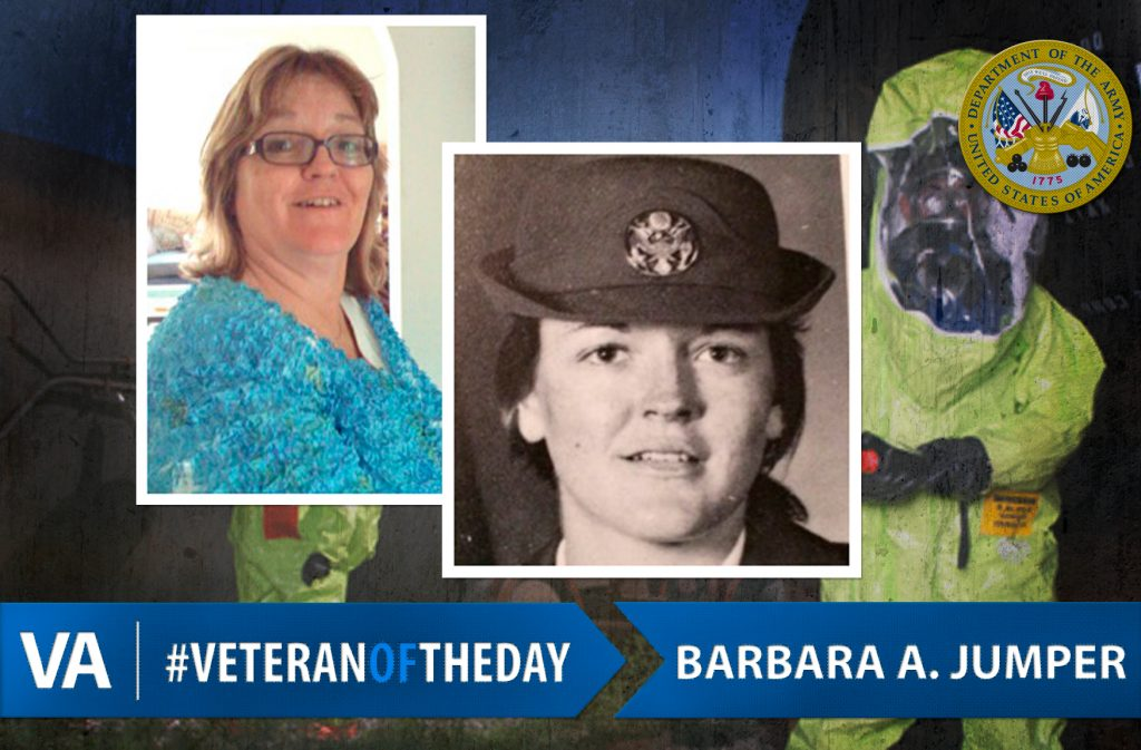 #VeteranOfTheDay: Army Veteran Barbara A. Jumper