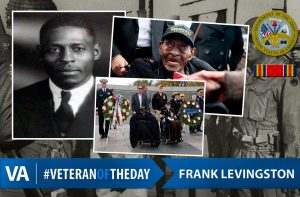 Veteran of the day frank levingston