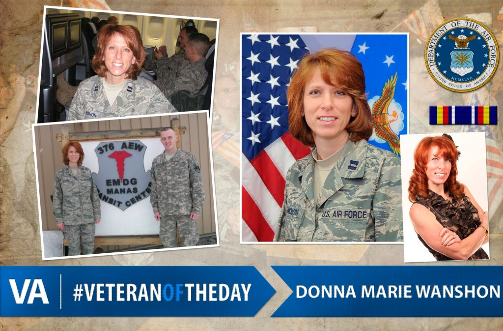 #VeteranOfTheDay: Air Force Veteran Donna Marie Wanshon