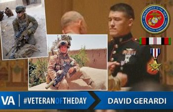 Veteran of the day David Gerardi