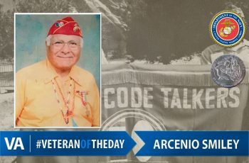 Veteran of the day Arcenio Smiley