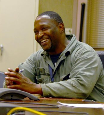 Image of Elisha Jefferson is one of 50 formerly homeless Veterans in the Columbia, SC area who received a new bed through the program.