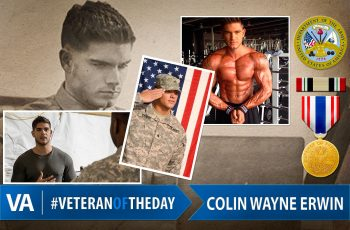 Veteran of the day Colin Wayne