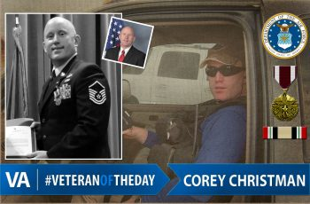 Veteran of the day Corey Christman