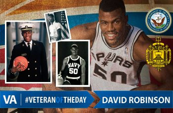 Veteran of the day David Robinson