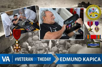 Veteran of the day Edmund Kapica