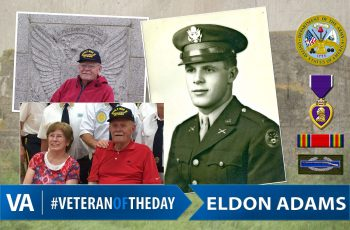 Veteran of the day Eldon Adams