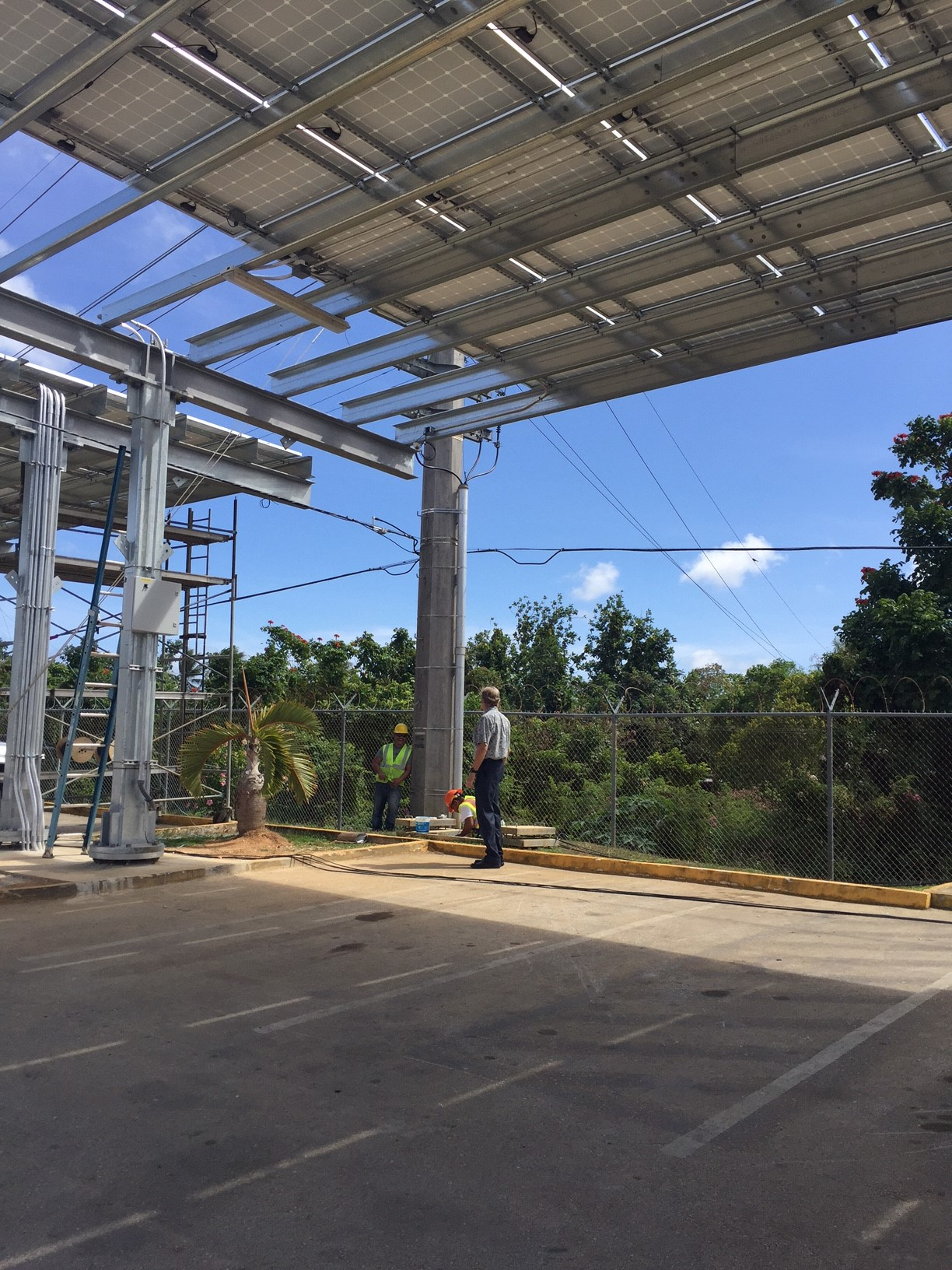 Va Green Initiative Turns Parking Lot Into Power Plant And