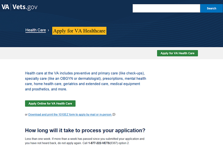 VA rolls out new health care application to help remove ...