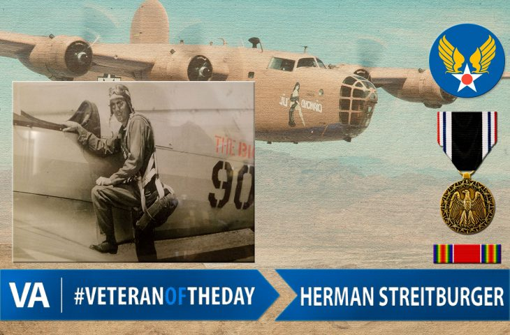#VeteranOfTheDay Army Air Forces Veteran Herman Streitburger