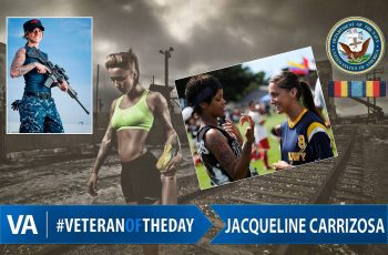 Veteran of the day Jacqueline Carrizosa