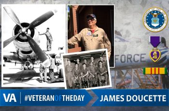 Veteran of the day James Doucette