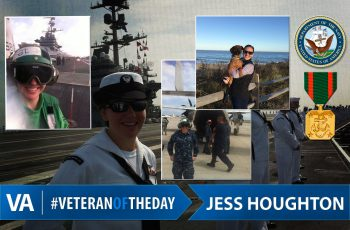 Veteran of the day jess houghton