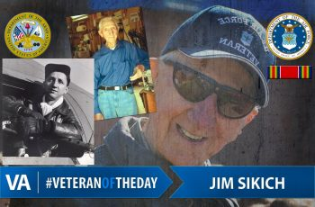Veteran of the day Jim Sikich