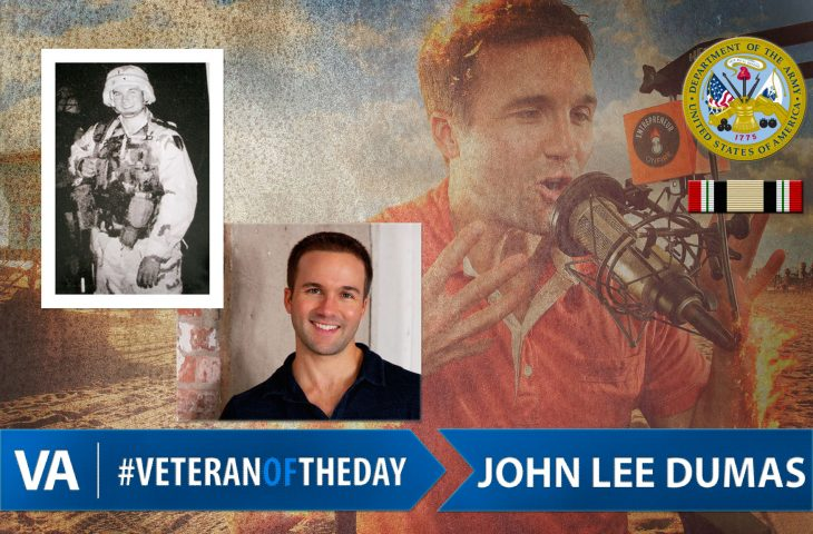 Veteran of the day John Lee Dumas