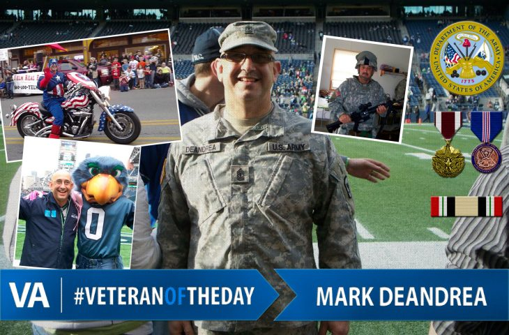 #VeteranOfTheDay Army Veteran Mark DeAndrea