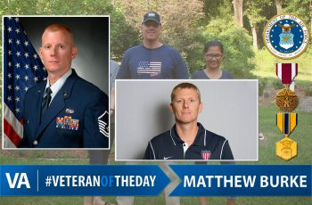 Veteran of the day Matthew Burke